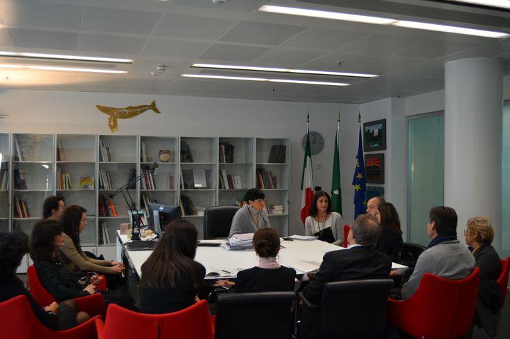 Regione Lombardia, 4 febbraio - Incontro della delegazione con l'Assessore On. Valentina Aprea