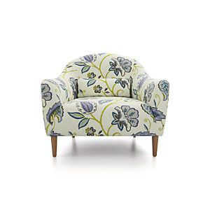Pennie #Chair - Silla floreada para tu #hogar. #Crate&Barrel #Antea