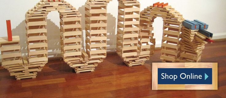 Kapla Blocks and Toys - The Construction Plank for Big and Small