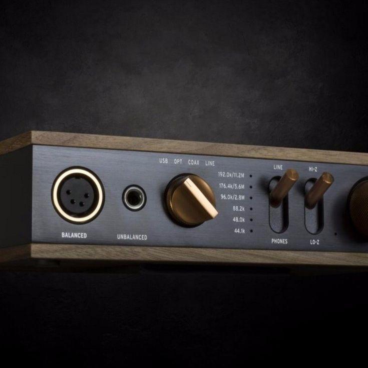 Klipsch Heritage Headphone Amplifier  See more at http://www.transfer.design  #transferdesign #design #blog  #audio #hifi #technology #vinyl #turntable #amplifier @klipschaudio See more great design at www.transfer.design