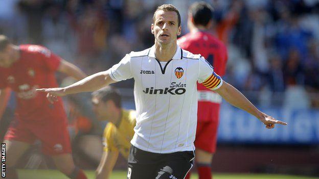 Tottenham forward Roberto Soldado