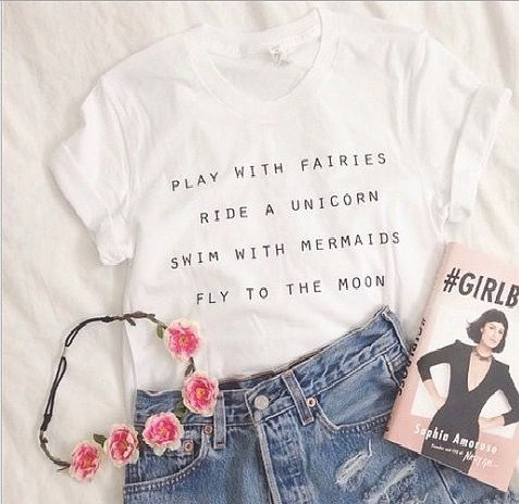 Play with fairies t-shirt