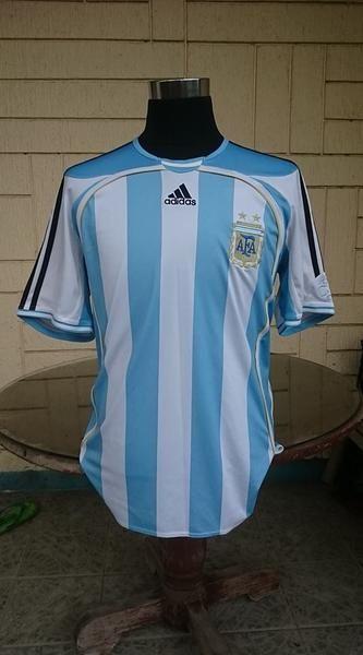 dbd8f70b1f ARGENTINA 2006 WORLD CUP QUARTER-FINALS JERSEY ADIDAS SHIRT CAMISETA ...