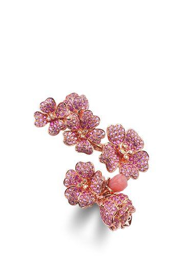 Morphée Joaillerie Bague Fleur de Cerisier