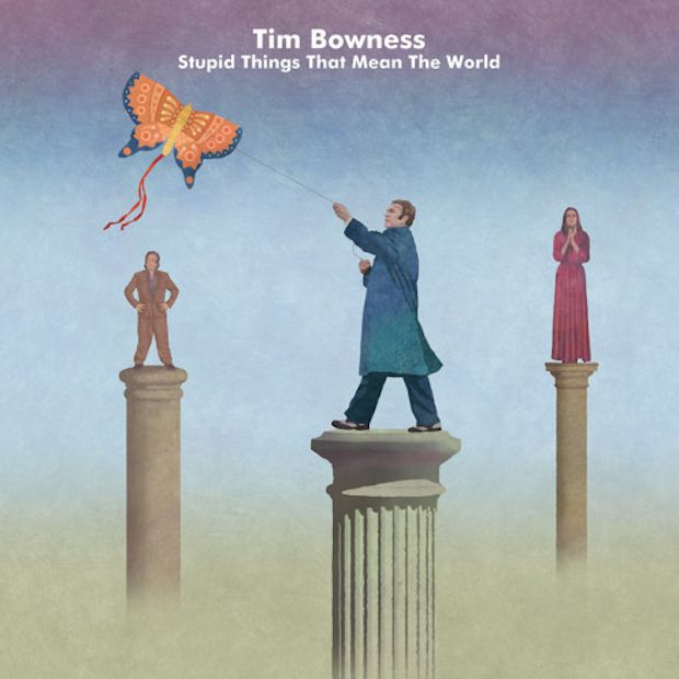 4* ALBUM REVIEW : Tim Bowness 'Stupid Things That Mean the World' - http://gigsoup.co/1Vm9Tim Bownessness