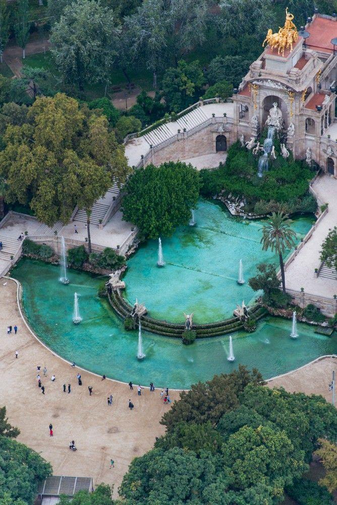 La Cascada Monumental, uno de los puntos destacados del #ParcDeLaCiutadella http://www.viajarabarcelona.org/lugares-para-visitar-en-barcelona/parc-de-la-ciutadella/ #Barcelona