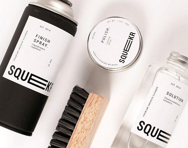 Squekr: Premium Sneaker Care Kit on Behance