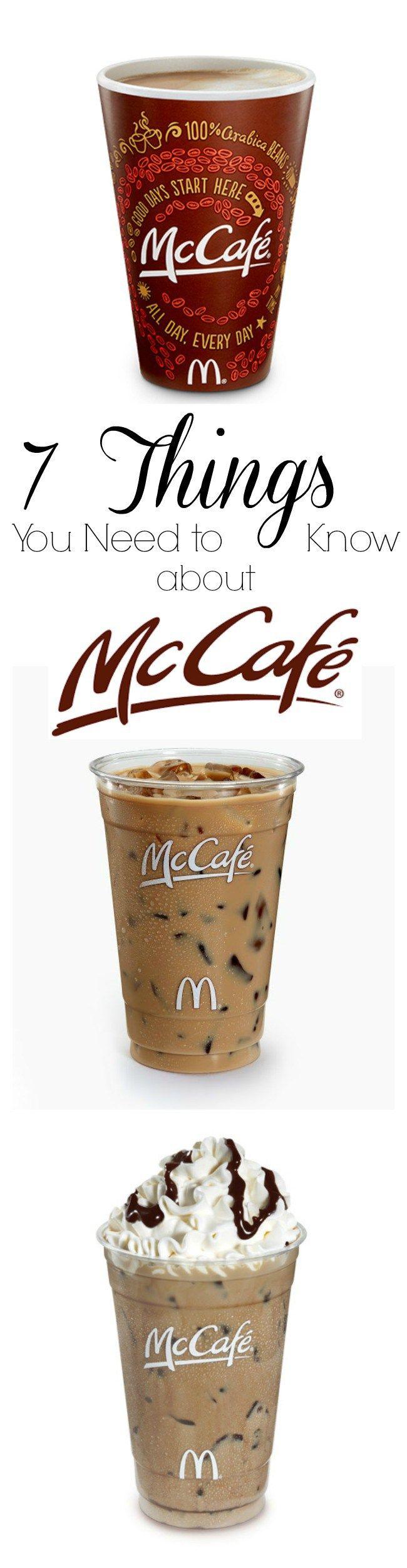 mcCafe McDonald's Coffee