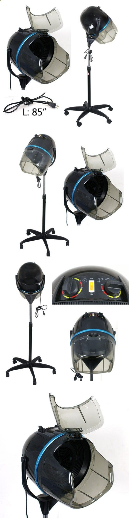 Hair Dryers: Floor Bonnet Stand Up Salon Hair Dryer With Casters 1300W Bonnet Hood Dryer New -> BUY IT NOW ONLY: $91.09 on eBay!
