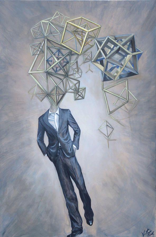 Октаэдр делового человека  Винсент Финк. (Vincent Fink) , Сакральная Геометрия