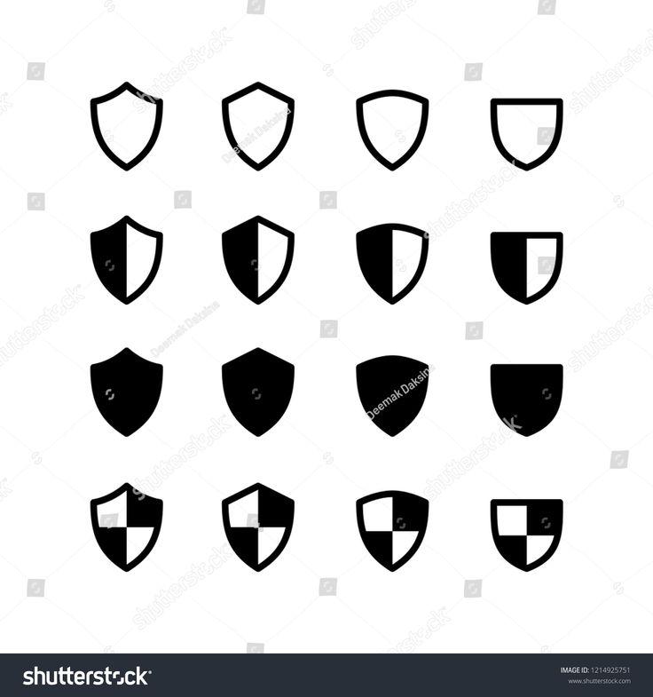 Shield Icon Logo Vector Symbol Antivirus Icon Sponsored Ad Logo Icon Shield Antivirus Shield Icon Vector Logo Icon