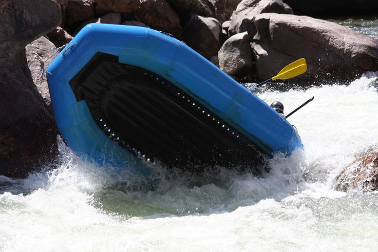 Whitewater Rafting in The Royal Gorge with Lost Paddle Rafting!