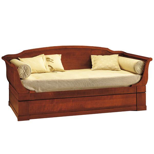 Letto legno design letto design nuovo barocco in legno ca for Letto in stile california
