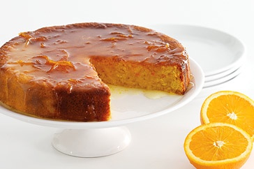 Healthy and delicious! Orange cake without flour, and I replace the sugar with sweet birch sugar or sucrin, so I can keep my blood sugar level low, AND enjoy :)