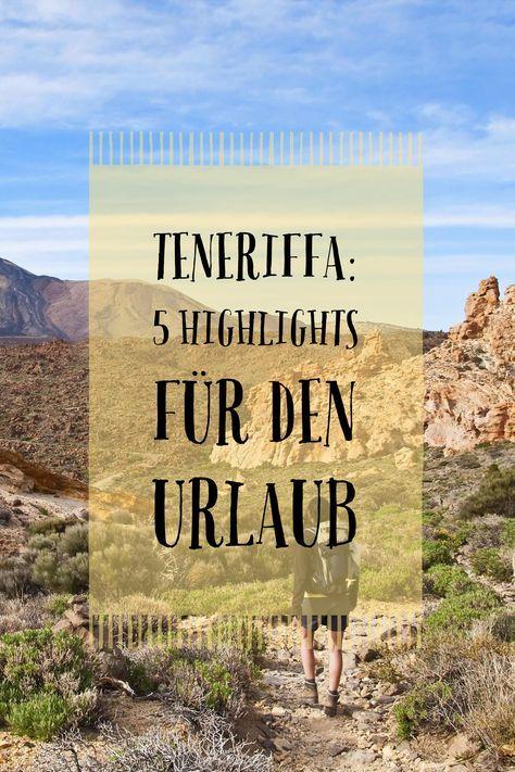 Wir sagen dir, welche Erlebnisse deine Reise nach Teneriffa perfekt machen.