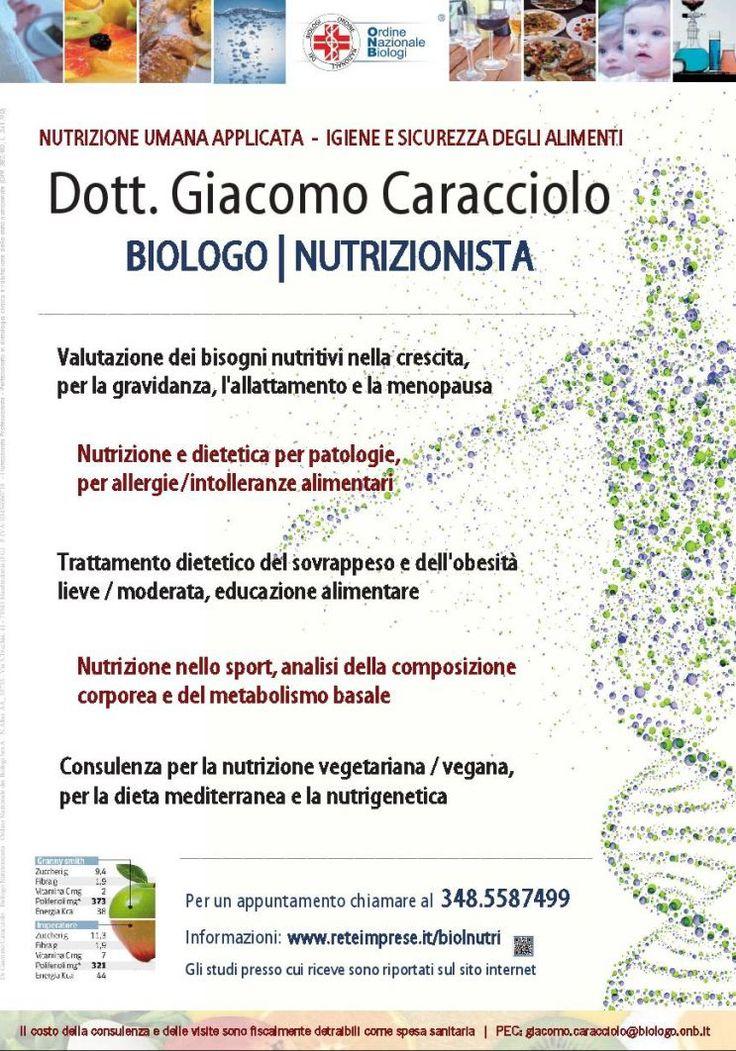 Studio di nutrizione umana - Biologo Nutrizionista