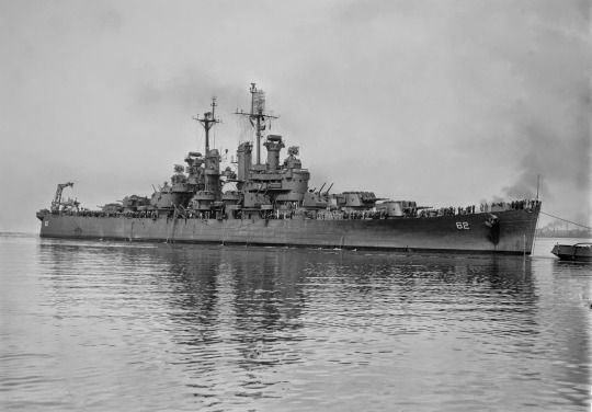 """USS Birmingham (CL-62), a light cruiser named for the city of Birmingham, Alabama, the """"Steel City"""", was a Cleveland class light cruiser laid down at the Newport News Shipbuilding and Dry Dock Company of Newport News, Virginia on 17 February 1941 and launched on 20 March 1942."""