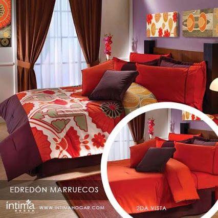 Juego edredón Marruecos Es uno de los productos de la nueva colección Intima Hogar.