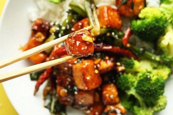 tofu saltato in padella ricetta cinese vegan