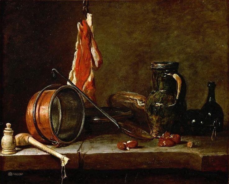 Шарден, Жан-Батист-Симеон (Париж 1699-1779). Натюрморт.