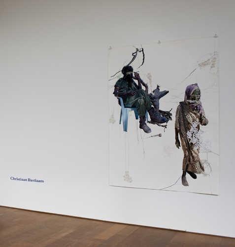 Christiaan Bastiaans, Seeping from bone to soil (2005). © Jordi Huisman, Museum De Paviljoens