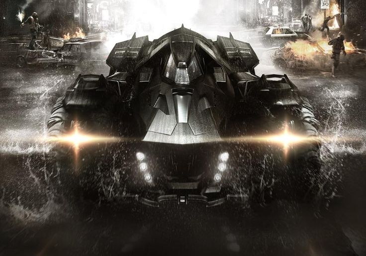Batman Arkham Knight Batmobile 2
