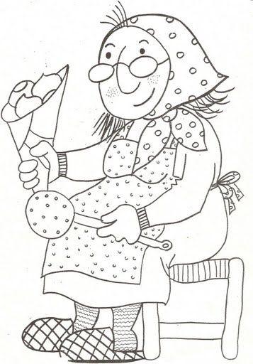 Menta Más Chocolate - RECURSOS PARA EDUCACIÓN INFANTIL: Dibujos para colorear: CASTAÑERA