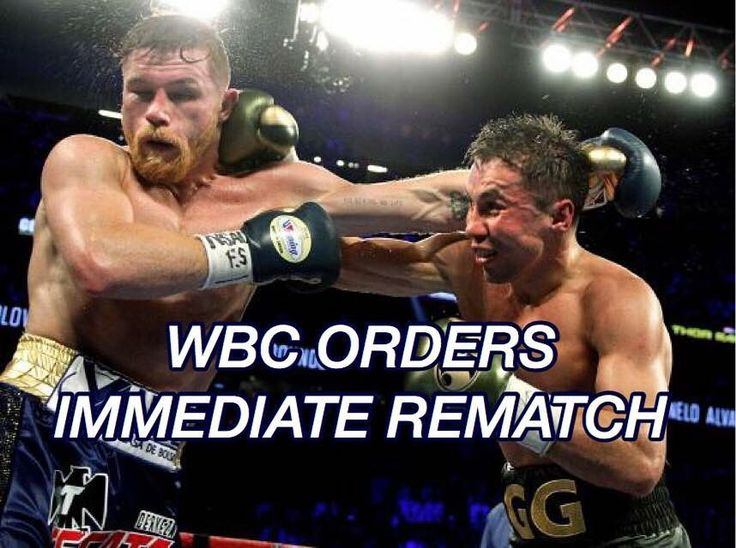 """The WBC @wbcboxing has ordered an immediate rematch between Saul """"Canelo"""" Alvarez @canelo and Gennady """"GGG"""" Golovkin. Who do you favor in a rematch? Let us know below #WBC #wbcboxing #boxing #boxeo #mexico #mexicanboxing #boxeomexicano #canelo #CaneloGolovkin #caneloggg #supremacy #rematch #frontproof"""