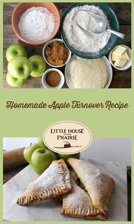 Homemade Apple Turnover Recipe inspired by Little House on the Prairie
