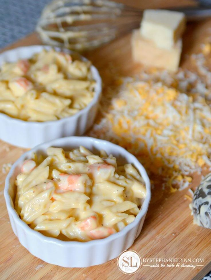 Baked Shrimp Macaroni and Cheese Recipe for Phil after he gets his wisdom teeth pulled :(