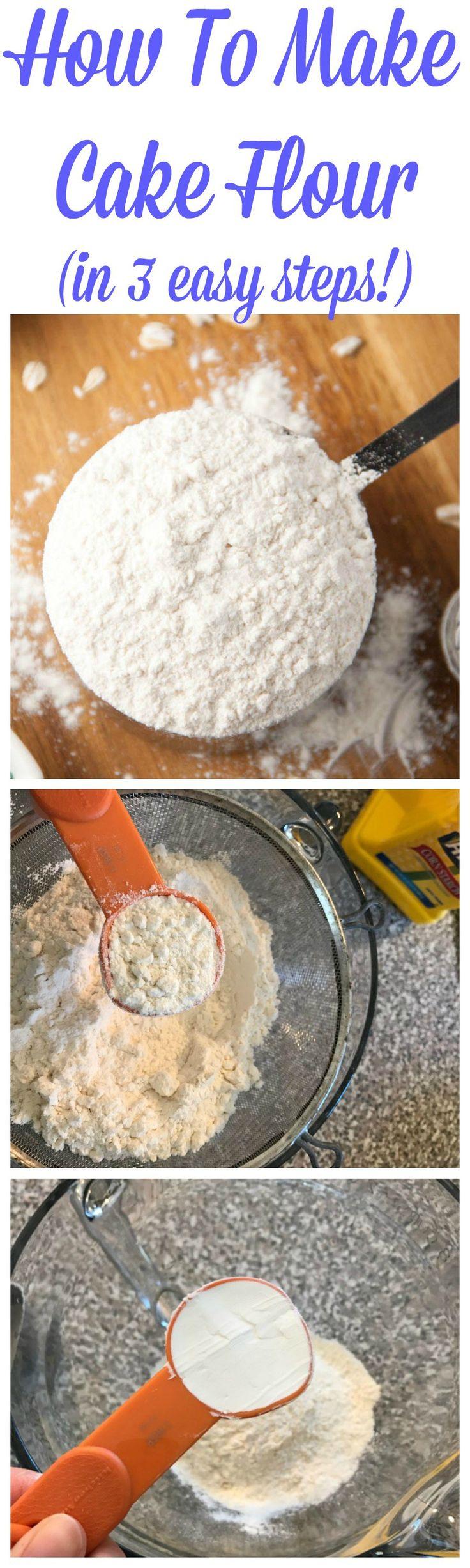 How To Make Your Own Cake Flour - Boston Girl Bakes