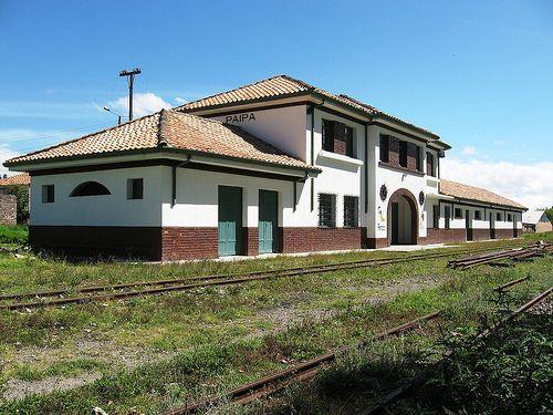 Estación del ferrocarril. Paipa. Boyacá. Colombia.