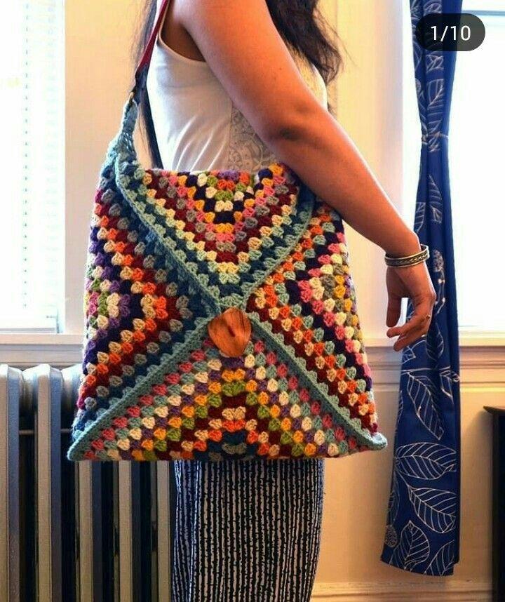 Bolsa sacola de croche feminina – #Bolsa #CROCHÊ #de #feminina #sacola