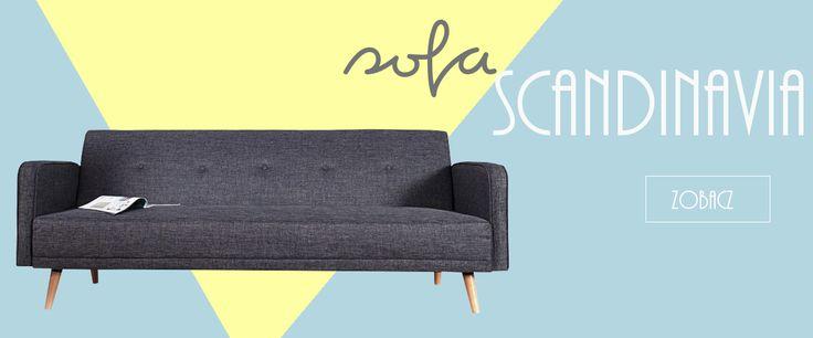 skandynawska sofa
