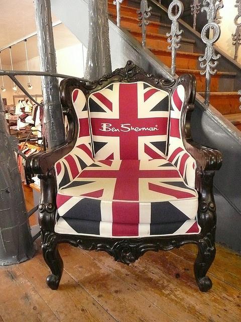 Ben Sherman Union Jack chair