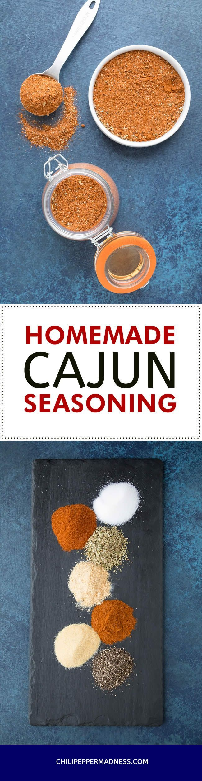 Homemade Cajun Seasoning -  Use this recipe method to make your own Cajun seasoning blend at home from scratch, with your own preferred ingredients.