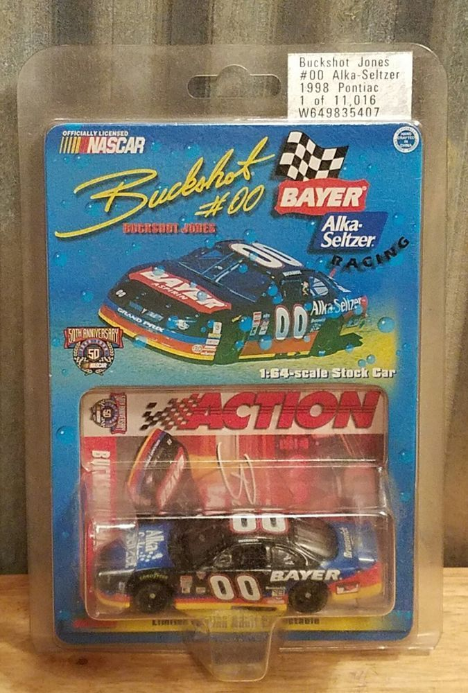 Buckshot Jones 1998 #00 Bayer Alka Seltzer 1:64 Diecast 1 of 11,016 Nascar | Toys & Hobbies, Diecast & Toy Vehicles, Cars: Racing, NASCAR | eBay!