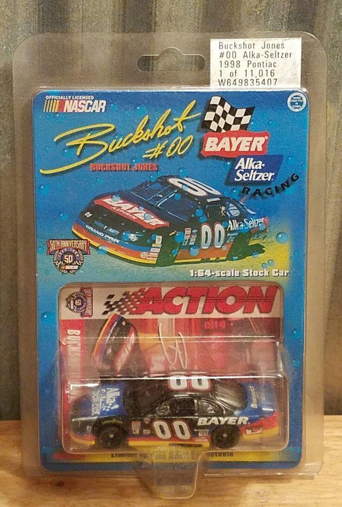 Buckshot Jones 1998 #00 Bayer Alka Seltzer 1:64 Diecast 1 of 11,016 Nascar | Toys & Hobbies, Diecast & Toy Vehicles, Cars: Racing, NASCAR | eBay!
