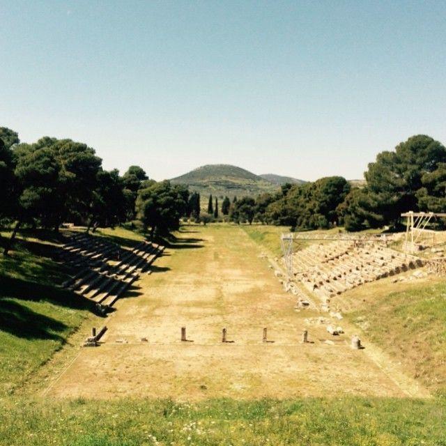 Stadium of #Epidaurus! #Ancient #Culture  Photo credits: @nikoskakavoulis