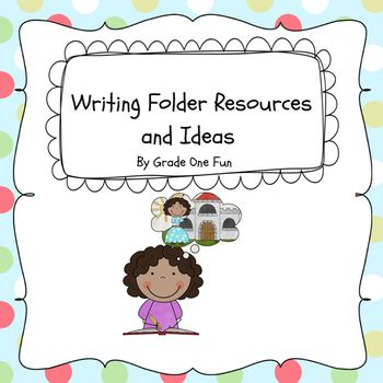 Writing Folder and Resources for Primary Students by Grade One Fun 6.00: School Teaching, Teaching The Hardest, Schooling Life, Primary Students, Writing Folder, Dpes Tchrs, Classroom Ideas, Language Arts, Teacher Resources