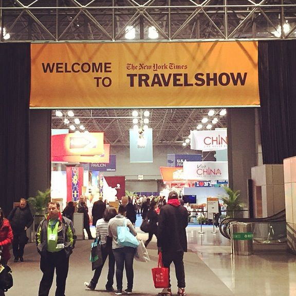 New projects, new horizons, fresh ideas! Yoleni's family is exploring yet again!!!  #nytravelshow #yolenis #yolenisusa #yolenistaste