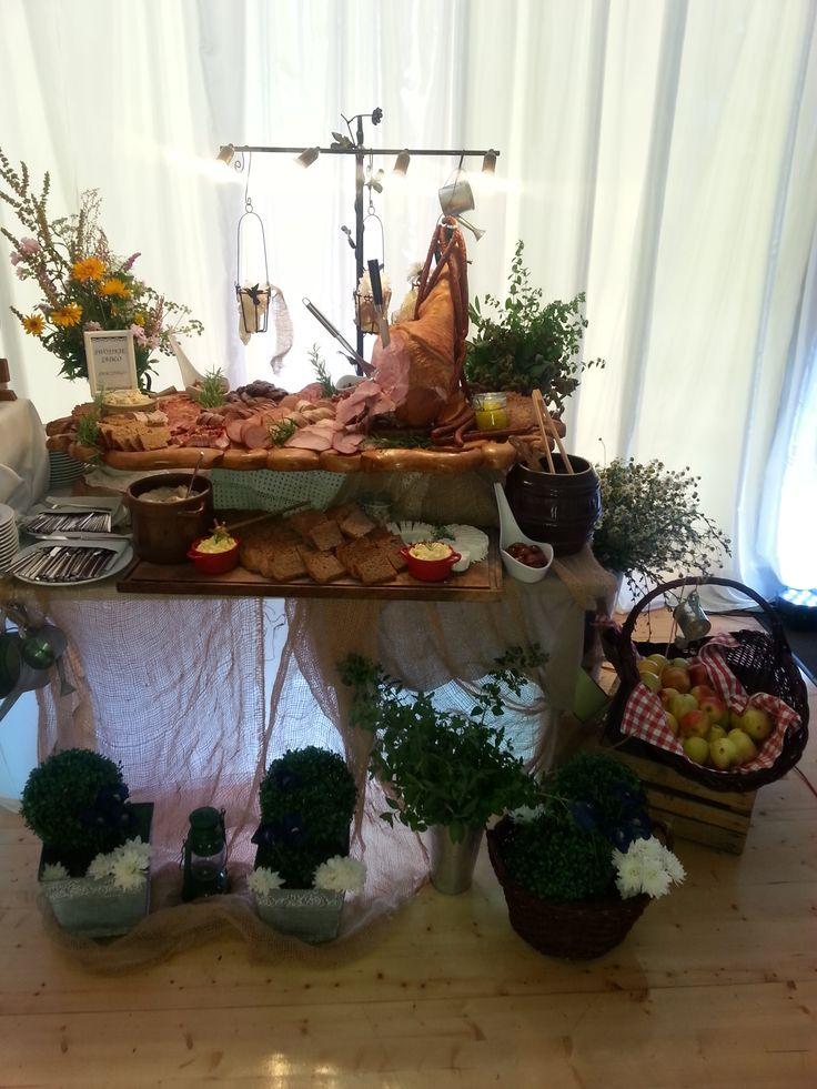Bufet wiejski, wesele w namiocie Constancja Częstochowa