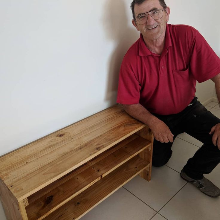 Our First Attempt At Creating A Custom Shoe Rack Complete With 3 Tiers Created Using Recycled Floor Boards What Do You Think Click Woodworking Woodworking Basics Woodworking Plans