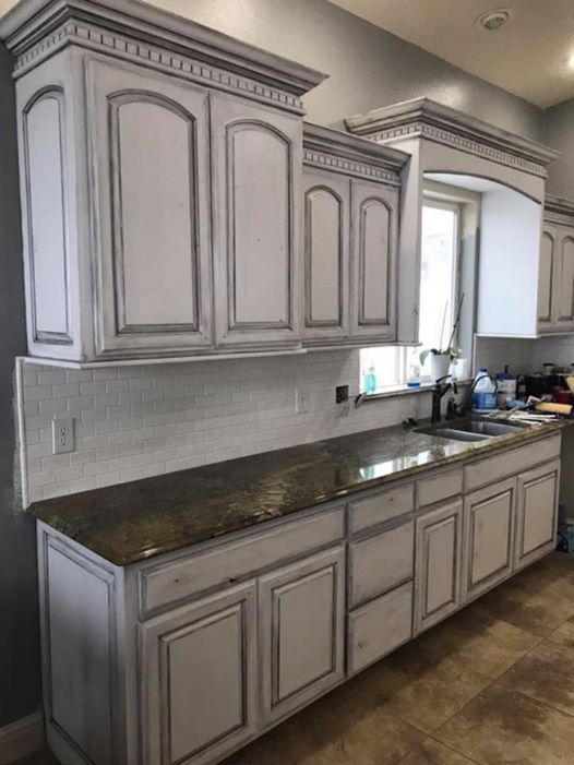 How to paint kitchen cabinets with dixie belle chalk