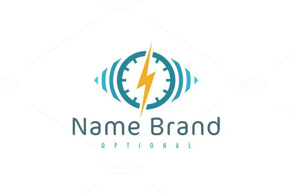 For sale. Only $29 - eye, circle, alarm, security, energy, sound, wave, power, analysis, system, signal, iris, monitoring, vision, clock, time, spy, sight, watch, lightning, bolt, noise, zap, control, thunder, trace, technology, music, storm, logo, design, template,