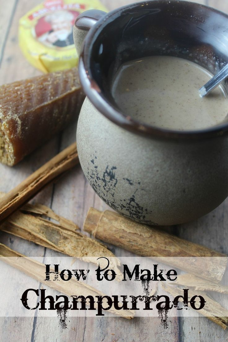 How to Make Champurrado (A Thick, Mexican Hot Chocolate) | The CentsAble Shoppin
