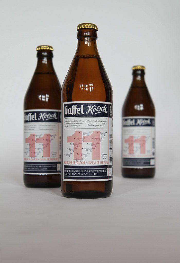 gaffel kolsch beer labels