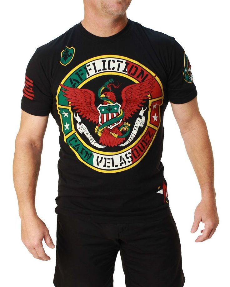 Affliction Men s Cain Velasquez UFC 180 Walk Out Heritage T-Shirt