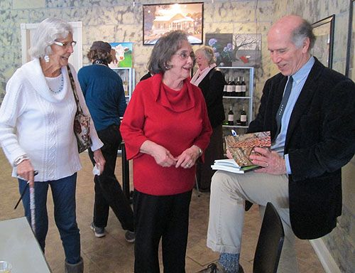 The ACWC hosted a reading and reception for Joseph Bathanti (NC Poet Laureate 2012-2014)