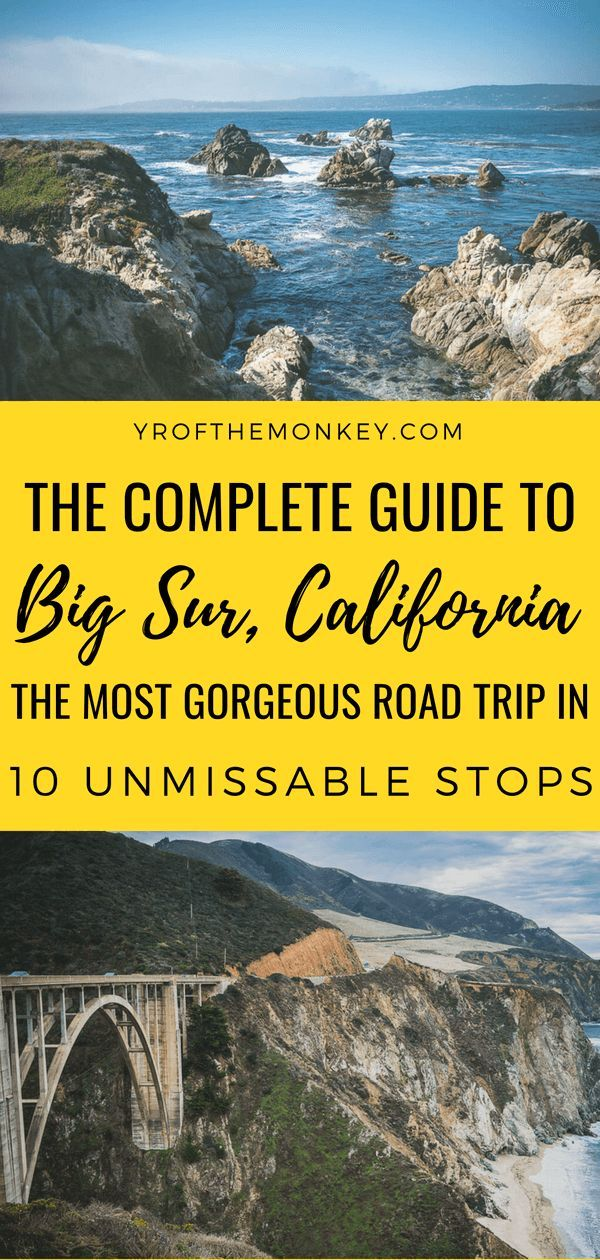 Big Sur road trip itinerary: 10 epic Pacific Coast Highway stops to not miss